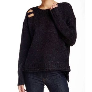 BOGO! Wildfox After Party Distressed Sweater Wool